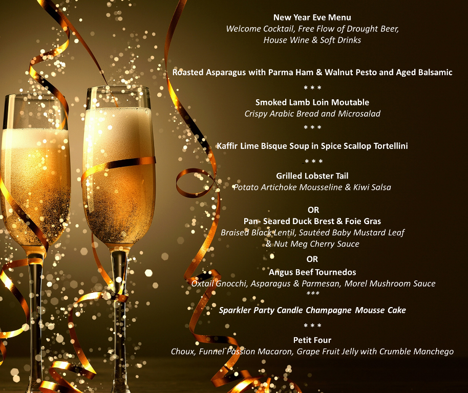 Free Entrance To Join New Year Eve Countdown Party
